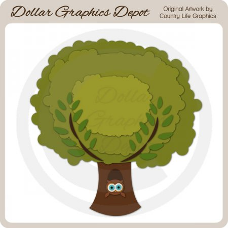 Forest Tree - Cutting Files / Paper Piecing Patterns
