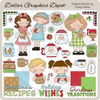 Christmas Traditions - Clip Art