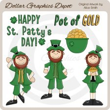 Happy St. Patty's Day - Clip Art