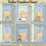 Precious Baby Boy Cards - Printables