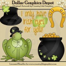 Irish Eyes For You - Clip Art