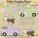 Easter Egg Farm - Clip Art