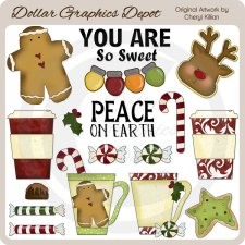 Christmas Treats 1 - Clip Art