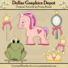 Princess Pretties - Clip Art