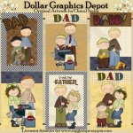 Super Dad Cards