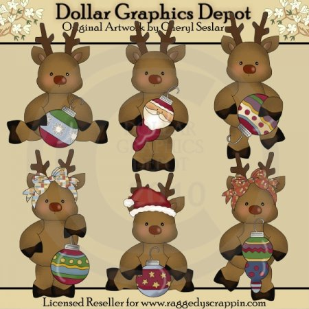 Whimsical Reindeer - *DGD Exclusive*