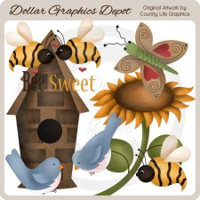Bee Sweet - Clip Art