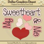 My Sweetheart 1 - Clip Art
