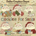 Cookie Claus - Clip Art - *DGD Exclusive*