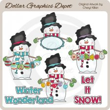 Winter Wally - Clip Art