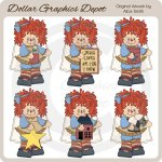 Country Annie Angels - Clip Art - *DGD Exclusive*