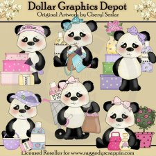 Little Panda Bears - Girly Girls