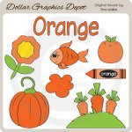 Colors - Orange - Clip Art