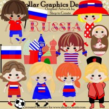 Russian Dolls - Clip Art
