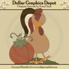 Autumn Rooster - Cutting Files / Paper Piecing Patterns