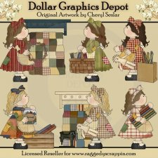 Patchwork Girls - Little Quilters