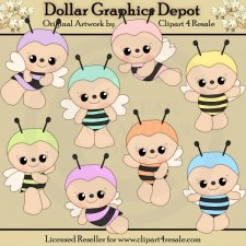 Baby Bumbles - Clip Art - *DGD Exclusive*