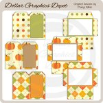 Fabulous Fall - Tag Cards and Envelopes