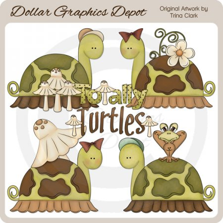 Totally Turtles - Clip Art