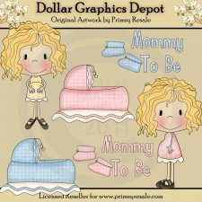 Mommy To Be 1 - Clip Art