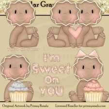 Gingerbread - Sweet On You - Clip Art