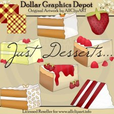 Just Desserts - Clip Art