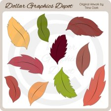 Autumn Leaves 4 - Clip Art
