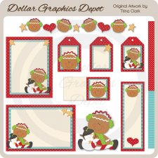 Christmas Gingers 1 - Printables