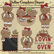 Gingerbread Lovin - *DGD Exclusive*