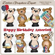 Bestie Bears - Celebrate America - *DGD Exclusive*