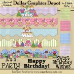 Birthday Party Designer's Set - *DGD Exclusive*