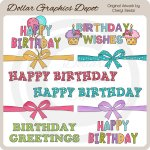 Birthday Hodge Podge - Clip Art - *DGD Exclusive*