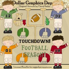 Football Season - Clip Art