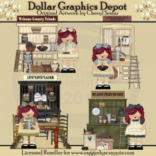 Annies Little Prim Shoppe - Clip Art - *DCS Exclusive*