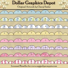 Scalloped Borders - Baby
