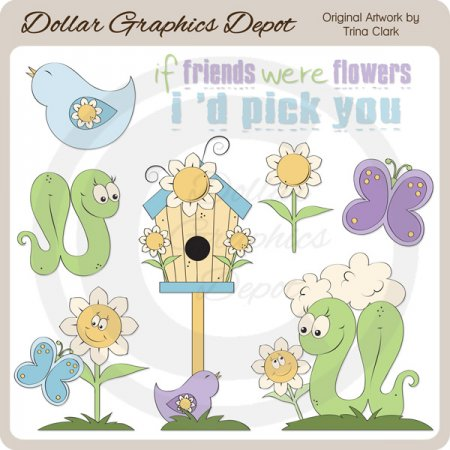 Daisy and Friends - Clip Art