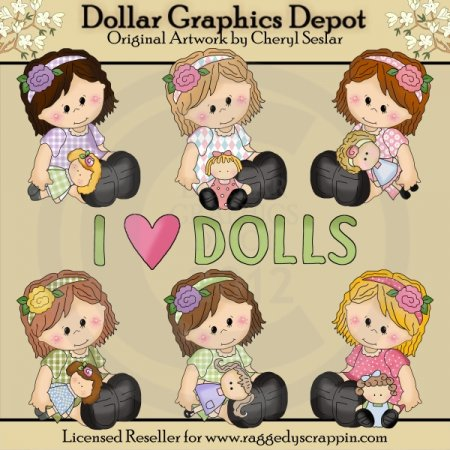Little Sophie - Loves Dollies
