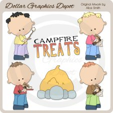 Campfire Treats - Clip Art