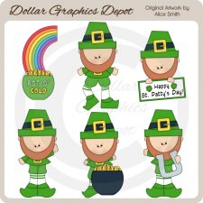 St. Patty's Day - Clip Art - *DGD Exclusive*