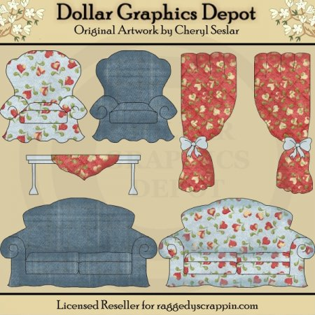 Country Home Furnishings - Designer's Set - *DGD Exclusive*