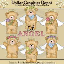 Chubby Cubby - Lil Angels - Clip Art