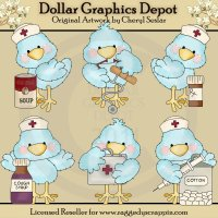 Tiny Tweets - Medical - Clip Art