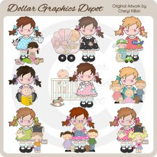 Della Rae - Mommy Days - Clip Art - *DGD Exclusive*