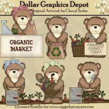 Little Brown Bear - Organic