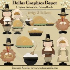 Give Thanks - Clip Art