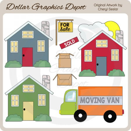 Moving Day - Clip Art