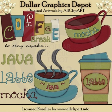 Coffee Break - Clip Art
