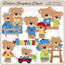 Little Bear - Brothers - Clip Art