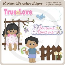 Loves Me...Loves Me Not 2 - Clip Art