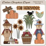 Fall Harvest 2 - Clip Art